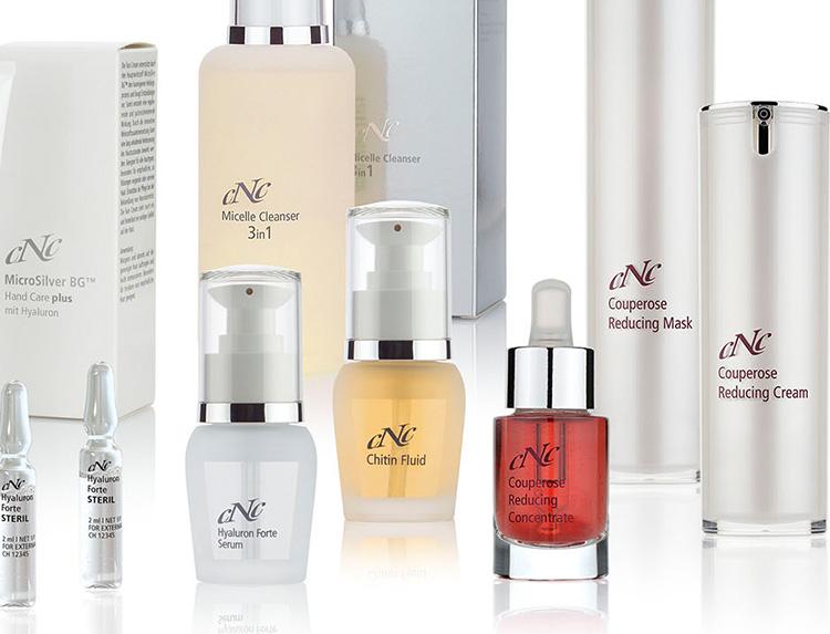 CNC Kosmetikprodukte